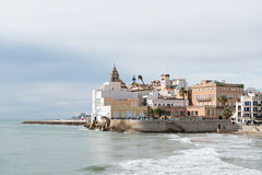Sitges - Barcelona (Spain) Royalty Free Stock Photos