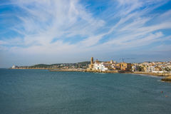 Sitges, Catalogne, Espagne Photo stock