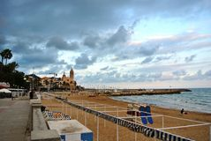 Sitges, Costa Dorada, Spanien Lizenzfreie Stockfotografie