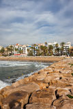 Sitges Seaside Resort Town in Spain Stock Photography