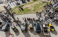 Sitges Spanien - mars 5 2017: den 59th tappningbilen samlar Barcelona-Sitges Arkivfoto