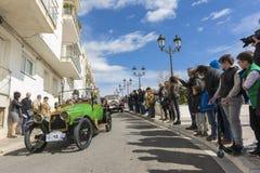 Sitges Spanien - mars 5 2017: den 59th tappningbilen samlar Barcelona-Sitges Royaltyfri Fotografi