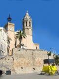 Sitges, Spanje Stock Foto's
