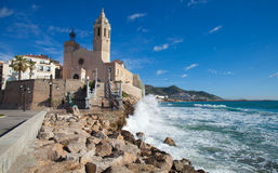 Sitges Royalty Free Stock Photography