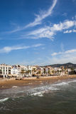 Sitges Town in Spain Stock Images