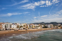 Sitges Town in Spain Royalty Free Stock Image
