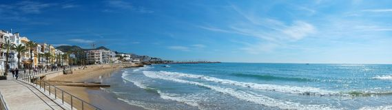 Sitges view Stock Photos