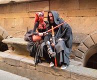 Sith Lords na banda desenhada de Lucca e nos jogos 2014 Foto de Stock Royalty Free