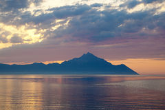 sithonia χερσονήσων της Ελλάδας Στοκ εικόνα με δικαίωμα ελεύθερης χρήσης