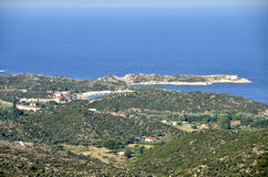Sithonia Aegean golf Stock Photography