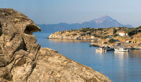 Sithonia, Halkidiki, Northern Greece Royalty Free Stock Images