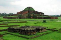 Siti archeologici di Paharpur il Bihar nel Bangladesh immagini stock