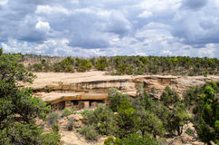 Siti archeologici - Mesa Verde National Park - U.S.A. Fotografia Stock