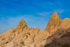 Siti di Cappadocia, Kapadokya, Turchia della roccia Immagine Stock Libera da Diritti