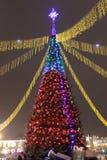 Siti Grodno della Bielorussia del nuovo anno immagine stock