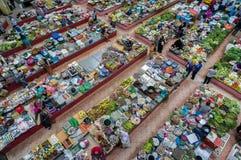 Siti khadijah wet market Stock Image