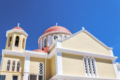 Sitia church Stock Photos