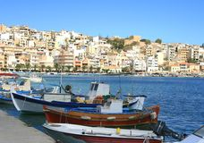 Sitia, Crete. The town Sitia on Crete Royalty Free Stock Images