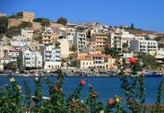 Sitia, Crete. The city of Sitia on Crete, Greece Royalty Free Stock Photos