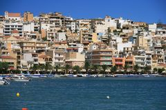 Sitia, Crete. The city of Sitia on Crete, Greece Stock Images