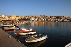 Sitia at dawn Stock Photography