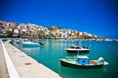 Sitia Grecia Creta imagenes de archivo