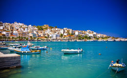 Sitia Grecia Creta Imagen de archivo libre de regalías