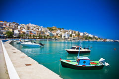 Sitia Greece Crete Stock Images