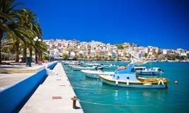 Sitia Grekland Kreta royaltyfri fotografi