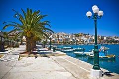 Sitia Grekland Kreta fotografering för bildbyråer