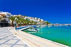 Sitia Grekland Kreta Arkivfoton