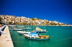 Sitia Grekland Kreta arkivbilder