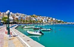 Sitia Grekland Kreta royaltyfria foton