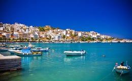 Sitia Griekenland Kreta Royalty-vrije Stock Afbeelding