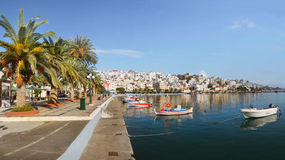 Sitia Port Town Crete Greece Stock Photos