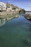 Sitia Roman Fish Tanks fotografie stock libere da diritti