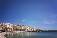 Sitia town Crete Royalty Free Stock Photography