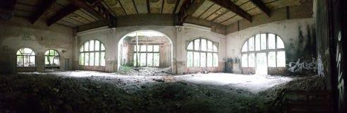 Sitio abandonado Foto de archivo libre de regalías