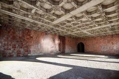 Sitio abandonado en el castillo Imagen de archivo