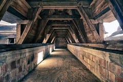 Sitio abandonado en el castillo Fotos de archivo libres de regalías