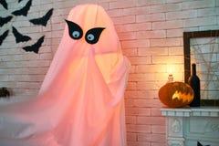 Sitio adornado para la celebración de Halloween Foto de archivo libre de regalías