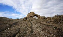 Sitio antiguo del reino del guge Imagen de archivo libre de regalías