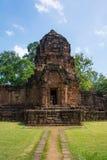 Sitio arqueológico, castillo de Tailandia Imagen de archivo libre de regalías