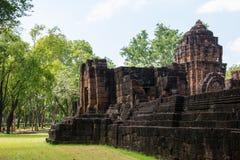 Sitio arqueológico, castillo de Tailandia Fotografía de archivo libre de regalías