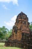 Sitio arqueológico, castillo de Tailandia Foto de archivo libre de regalías