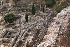 Sitio arqueológico de Byblos Fotografía de archivo libre de regalías