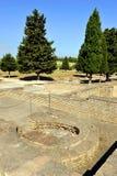 Sitio arqueológico de la ciudad romana de Italica, Andalucía, España Fotos de archivo libres de regalías