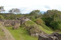 Sitio arqueológico de Tonina en Ocosingo, Chiapas Fotos de archivo