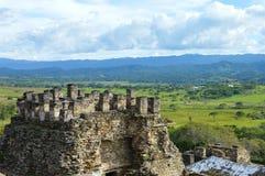 Sitio arqueológico de Tonina en Ocosingo, Chiapas Imagen de archivo