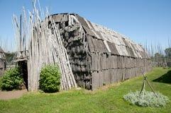 Sitio arqueológico de Tsiionhiakwatha Droulers - Quebec - Canadá Fotos de archivo libres de regalías